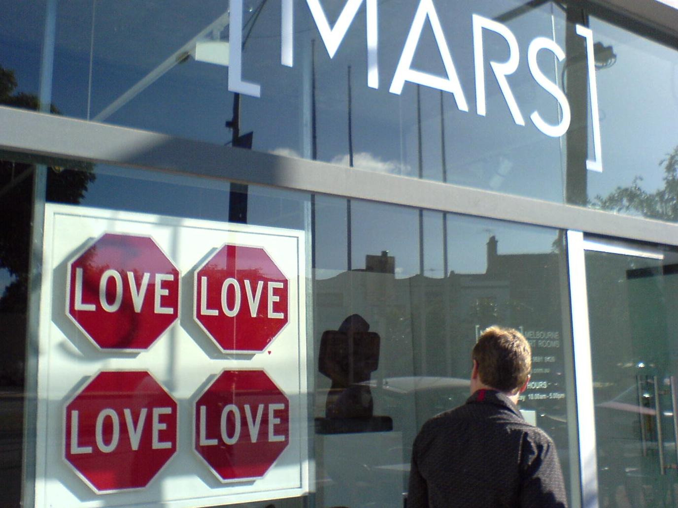 Love Sign @ MARS Gallery