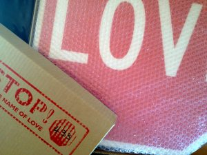 Love Sign boxed