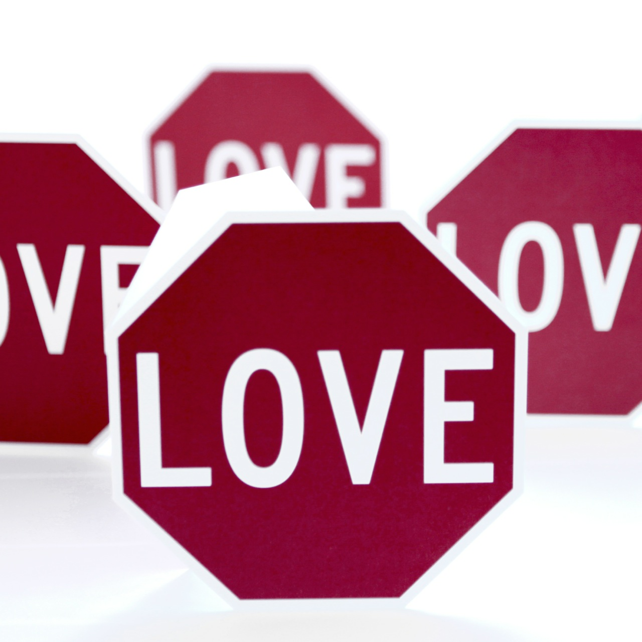 Love Sign greeting card